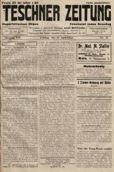 Teschner Zeitung : unparteiisches Organ. 1931, nr38