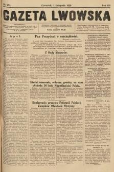Gazeta Lwowska. 1928, nr252