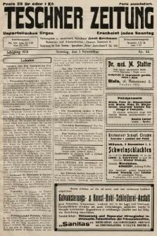 Teschner Zeitung : unparteiisches Organ. 1931, nr44