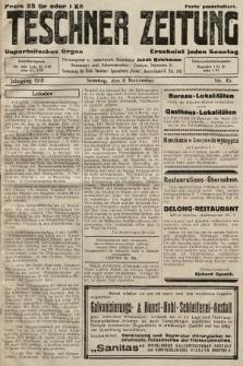 Teschner Zeitung : unparteiisches Organ. 1931, nr45