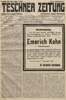 Teschner Zeitung : unparteiisches Organ. 1931, nr48