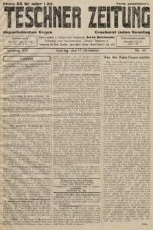 Teschner Zeitung : unparteiisches Organ. 1931, nr50