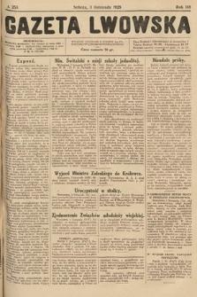 Gazeta Lwowska. 1928, nr253