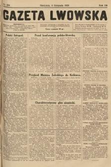 Gazeta Lwowska. 1928, nr254