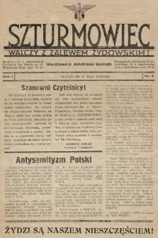 Szturmowiec : walczy z zalewem żydowskim! 1935, nr2