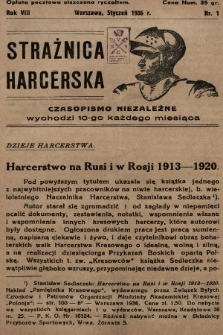 Strażnica Harcerska. 1936, nr1