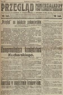 Przegląd Poniedziałkowy : pismo radykalno-narodowe. 1919, nr21