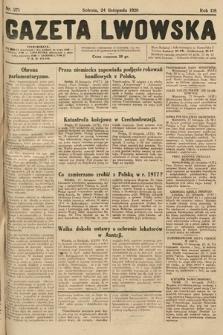 Gazeta Lwowska. 1928, nr271
