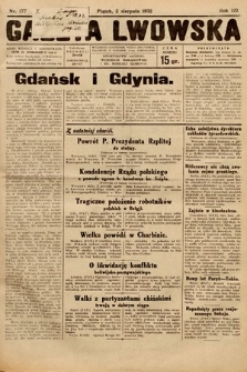 Gazeta Lwowska. 1932, nr177