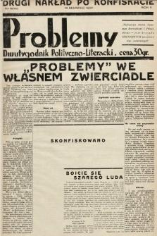 Problemy : dwutygodnik polityczno-literacki. 1935, nr9 (10) (drugi nakład po konfiskacie )