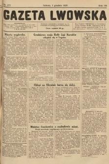 Gazeta Lwowska. 1928, nr277