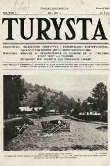 Turysta : czasopismo poświęcone turystyce i przemysłowi turystycznemu. 1927, nr1 i 2