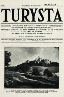 Turysta : czasopismo poświęcone turystyce i przemysłowi turystycznemu. 1927, nr4-5