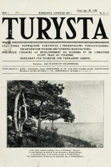 Turysta : czasopismo poświęcone turystyce i przemysłowi turystycznemu. 1927, nr6-7