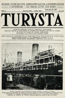 Turysta : czasopismo poświęcone turystyce i przemysłowi turystycznemu. 1928, nr2