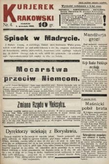 Kurjerek Krakowski. 1932, nr4