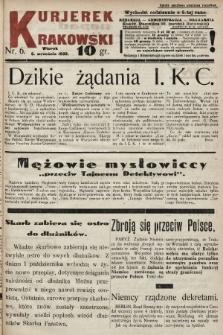 Kurjerek Krakowski. 1932, nr6