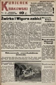 Kurjerek Krakowski. 1932, nr12