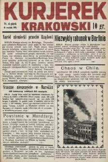 Kurjerek Krakowski. 1932, nr16