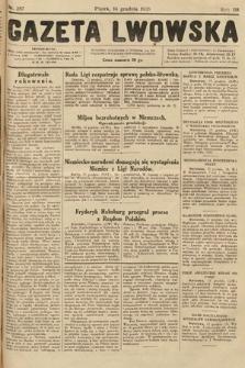 Gazeta Lwowska. 1928, nr287