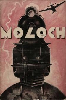 Moloch : dwutygodnik ilustrowany. 1928, nr1