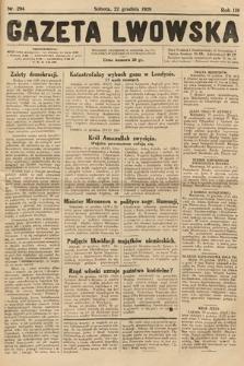 Gazeta Lwowska. 1928, nr294