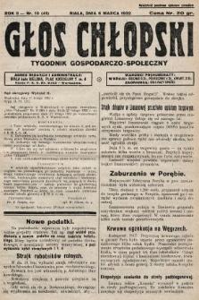 Głos Chłopski : tygodnik gospodarczo-społeczny. 1932, nr10