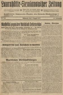 Laurahütte-Siemianowitzer Zeitung : enzige älteste und gelesenste Zeitung von Laurahütte-Siemianowitz mit wöchentlicher Unterhaitungsbeilage. 1927, nr120