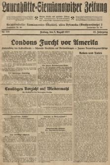 Laurahütte-Siemianowitzer Zeitung : enzige älteste und gelesenste Zeitung von Laurahütte-Siemianowitz mit wöchentlicher Unterhaitungsbeilage. 1927, nr121