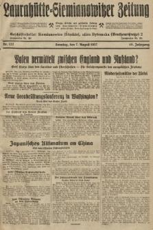 Laurahütte-Siemianowitzer Zeitung : enzige älteste und gelesenste Zeitung von Laurahütte-Siemianowitz mit wöchentlicher Unterhaitungsbeilage. 1927, nr122