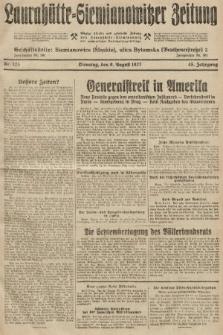 Laurahütte-Siemianowitzer Zeitung : enzige älteste und gelesenste Zeitung von Laurahütte-Siemianowitz mit wöchentlicher Unterhaitungsbeilage. 1927, nr123