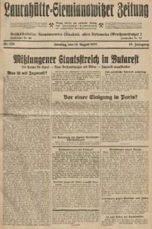 Laurahütte-Siemianowitzer Zeitung : enzige älteste und gelesenste Zeitung von Laurahütte-Siemianowitz mit wöchentlicher Unterhaitungsbeilage. 1927, nr126