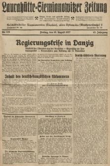 Laurahütte-Siemianowitzer Zeitung : enzige älteste und gelesenste Zeitung von Laurahütte-Siemianowitz mit wöchentlicher Unterhaitungsbeilage. 1927, nr128