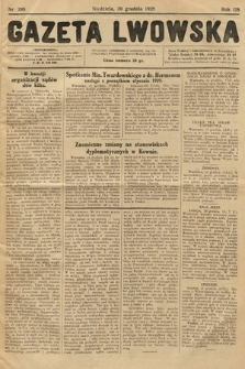 Gazeta Lwowska. 1928, nr299