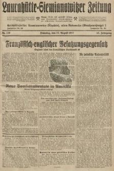Laurahütte-Siemianowitzer Zeitung : enzige älteste und gelesenste Zeitung von Laurahütte-Siemianowitz mit wöchentlicher Unterhaitungsbeilage. 1927, nr130