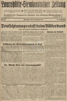 Laurahütte-Siemianowitzer Zeitung : enzige älteste und gelesenste Zeitung von Laurahütte-Siemianowitz mit wöchentlicher Unterhaitungsbeilage. 1927, nr131