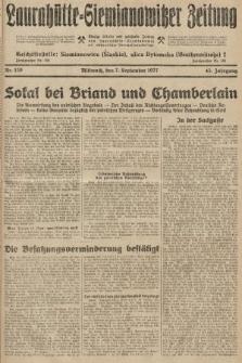 Laurahütte-Siemianowitzer Zeitung : enzige älteste und gelesenste Zeitung von Laurahütte-Siemianowitz mit wöchentlicher Unterhaitungsbeilage. 1927, nr139