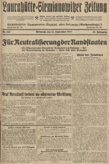 Laurahütte-Siemianowitzer Zeitung : enzige älteste und gelesenste Zeitung von Laurahütte-Siemianowitz mit wöchentlicher Unterhaitungsbeilage. 1927, nr143