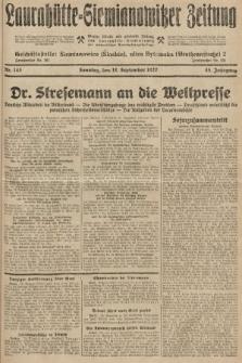 Laurahütte-Siemianowitzer Zeitung : enzige älteste und gelesenste Zeitung von Laurahütte-Siemianowitz mit wöchentlicher Unterhaitungsbeilage. 1927, nr145