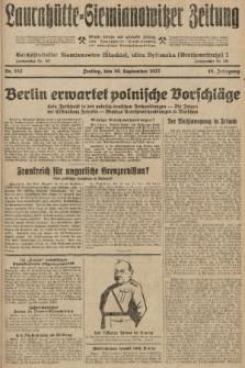Laurahütte-Siemianowitzer Zeitung : enzige älteste und gelesenste Zeitung von Laurahütte-Siemianowitz mit wöchentlicher Unterhaitungsbeilage. 1927, nr152