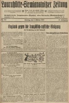 Laurahütte-Siemianowitzer Zeitung : enzige älteste und gelesenste Zeitung von Laurahütte-Siemianowitz mit wöchentlicher Unterhaitungsbeilage. 1927, nr153