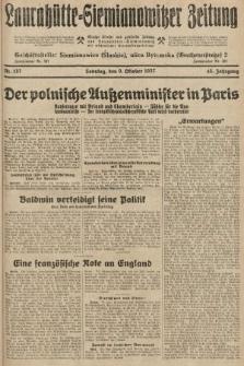 Laurahütte-Siemianowitzer Zeitung : enzige älteste und gelesenste Zeitung von Laurahütte-Siemianowitz mit wöchentlicher Unterhaitungsbeilage. 1927, nr157