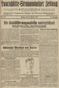 Laurahütte-Siemianowitzer Zeitung : enzige älteste und gelesenste Zeitung von Laurahütte-Siemianowitz mit wöchentlicher Unterhaitungsbeilage. 1927, nr160