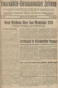 Laurahütte-Siemianowitzer Zeitung : enzige älteste und gelesenste Zeitung von Laurahütte-Siemianowitz mit wöchentlicher Unterhaitungsbeilage. 1927, nr162