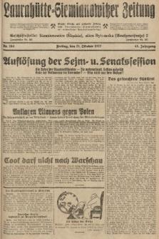 Laurahütte-Siemianowitzer Zeitung : enzige älteste und gelesenste Zeitung von Laurahütte-Siemianowitz mit wöchentlicher Unterhaitungsbeilage. 1927, nr164