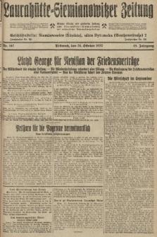 Laurahütte-Siemianowitzer Zeitung : enzige älteste und gelesenste Zeitung von Laurahütte-Siemianowitz mit wöchentlicher Unterhaitungsbeilage. 1927, nr167