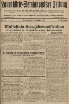 Laurahütte-Siemianowitzer Zeitung : enzige älteste und gelesenste Zeitung von Laurahütte-Siemianowitz mit wöchentlicher Unterhaitungsbeilage. 1927, nr170