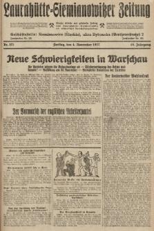 Laurahütte-Siemianowitzer Zeitung : enzige älteste und gelesenste Zeitung von Laurahütte-Siemianowitz mit wöchentlicher Unterhaitungsbeilage. 1927, nr171