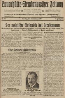 Laurahütte-Siemianowitzer Zeitung : enzige älteste und gelesenste Zeitung von Laurahütte-Siemianowitz mit wöchentlicher Unterhaitungsbeilage. 1927, nr172