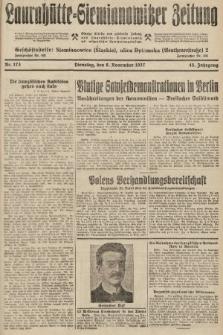 Laurahütte-Siemianowitzer Zeitung : enzige älteste und gelesenste Zeitung von Laurahütte-Siemianowitz mit wöchentlicher Unterhaitungsbeilage. 1927, nr173